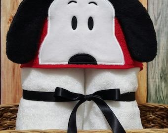 Peanut Pals Hooded Towels