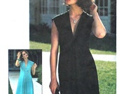 Pullover Dress for Knit Fabrics Bust 34 36 Simplicity 7472