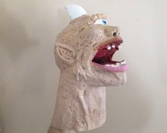 """Latex Rubber """"Psyclops""""  Hand Puppet"""