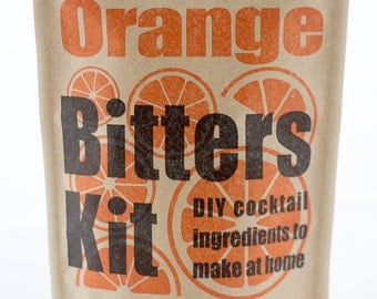 DIY Cocktail Bitters Kits (Orange)
