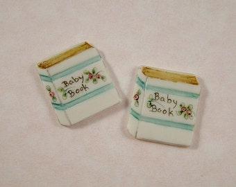 Baby Book Embellishment set of 2