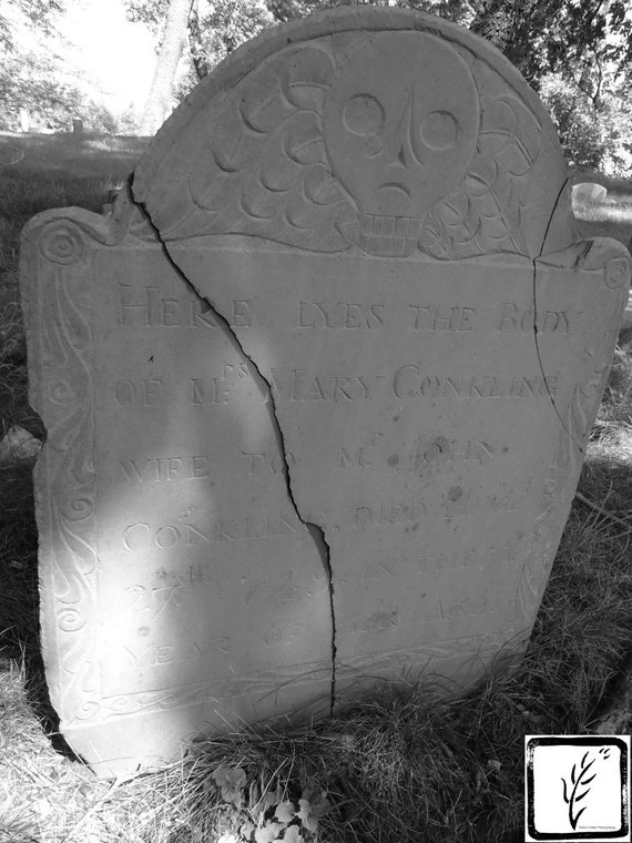 """Mrs. Mary Conkling,"" Old Huntington Burying Ground, Huntington, New York, 2015."