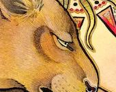 Sekhmet's Burden - Original Art