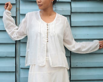 Pearl blouse...mix silk M,L,XL,XXL