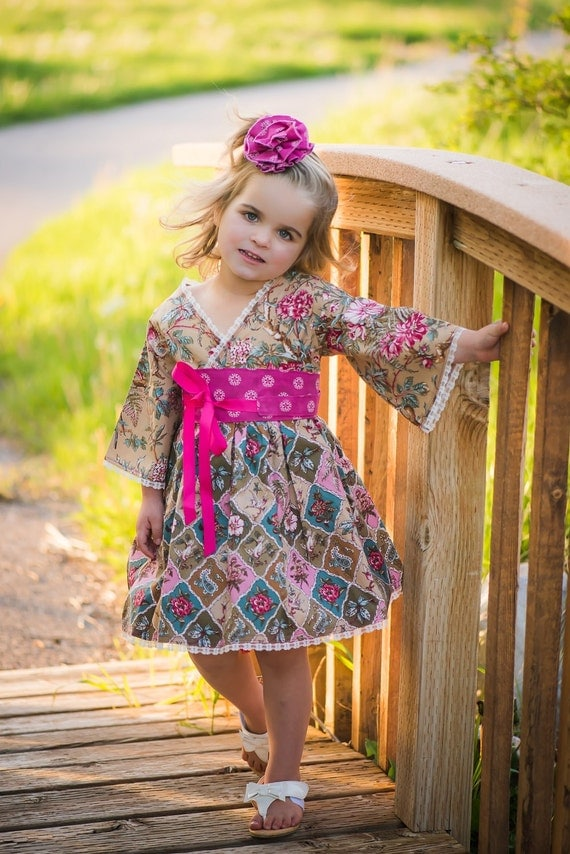 d4b50703b77 ... Toddler Clothes - Valentines Day Dress - Flower Girl Dress - Teen. Boho  ...
