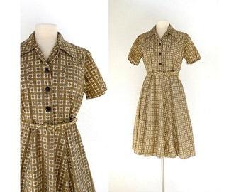 50s shirtwaist dress | Etsy