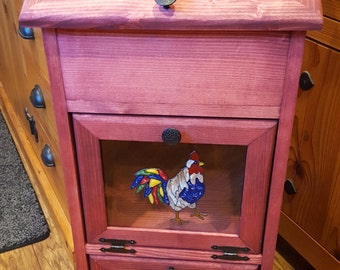 Potato Storage Bin - Rooster (C)