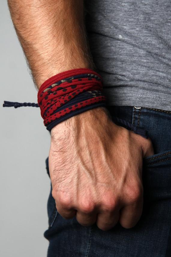 Bracelet, For Men, Boyfriend, Husband Gift, Hipster, Bohemian Jewelry, Gift For Him, Gift For Men, Mens Bracelet, Wrap Bracelet, Gift, Mens