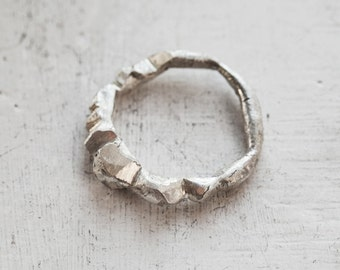 Sterling silver ring / One of a kind ring / Minimal Ring /