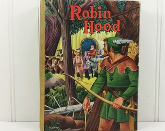 Robin Hood by Howard Pyle, The Merry Adventures of Robin Hood of Great Renown in Nottingamshire, 1940 Whitman 2137