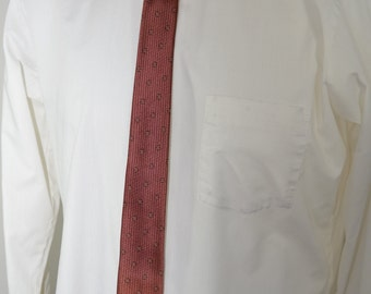 on sale Vintage PENNEY'S TOWNCRAFT Skinny Tie 1950's acetate