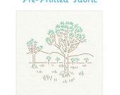 National Parks Joshua Tree Pre-Printed Fabric