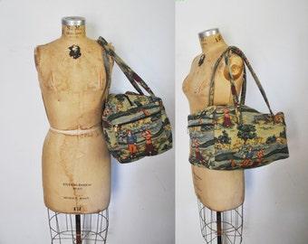 Weekender Tapestry Bag / Travel luggage / GOLF novelty print