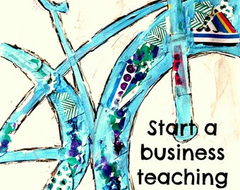 Start a Business Teaching Art Classes to Kids FULL ACCESS to Marketing and Lessons and Contracts