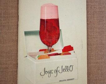 Joys of Jello Cookbook, Vintage Cookbook, Softcover Cook Book, Jell-O Recipes, Retro Cookbook, Collectible Cooking, Gelatin Recipe Book
