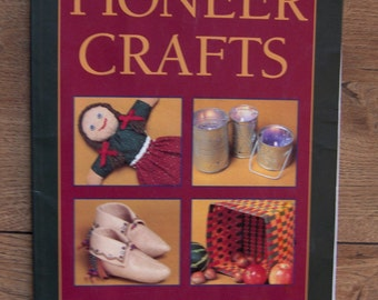 1997 kids can craft book Pioneer Crafts