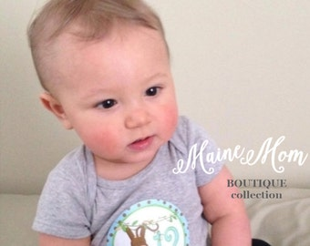 FREE GIFT, Baby Monthly Stickers, Baby Boy Month Stickers, Bodysuit Stickers, Monkey Milestone Stickers Monthly Photo Prop