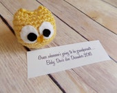 Owl Baby Announcement, Pregnancy Announcement, Grandparent Reveal