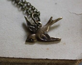 Sparrow Necklace - Spirit Animal