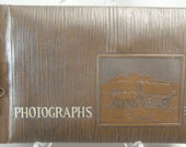 Vintage Photo Scrapbook Unused WESTWOOD HO Connestoga Wagon and oxen Photograph Scrapbook Unused