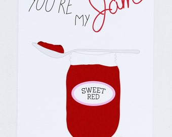 You're My Jam Greeting Card