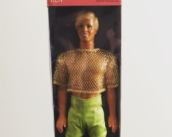 Sun Sensation Ken Doll, Barbie in box 1991, vintage collectable toy