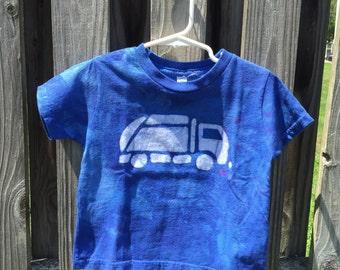 Garbage Truck Shirt (4T), Kids Truck Shirt, Boys Garbage Truck Shirt, Blue Truck Shirt, Girls Truck Shirt, Boys Truck Shirt