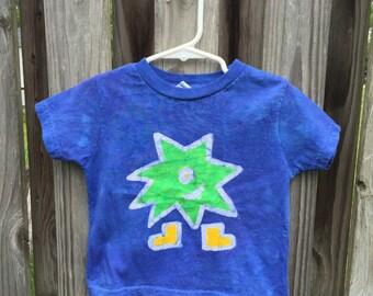 Kids Monster Shirt, Funny Monster Shirt, Blue Monster Shirt, Green Monster Shirt, Girls Monster Shirt, Boys Monster Shirt, Batik Shirt (2T)
