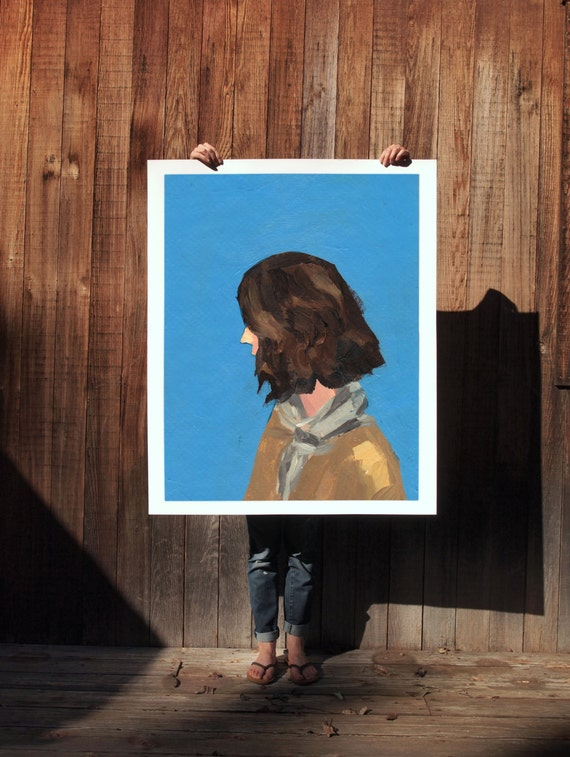 The Scout  . giclee art print