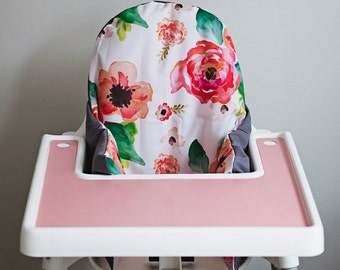 PREORDER: IKEA Antilop Highchair Cover // Floral Dreams // High Chair Cover for the PYTTIG Cushion // Pillow Slipcover