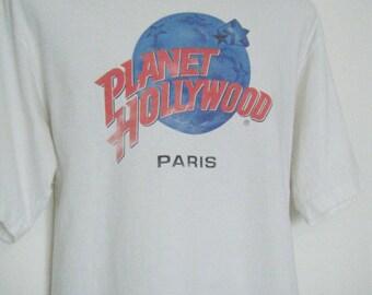 San sun vintage surfer salt water sandals in white for Planet hollywood t shirt