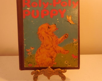 The Roly Poly Puppy by Barbara Bates