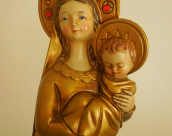 Mary and Baby Jesus Christmas Decor