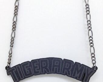 Tiger Army Necklace