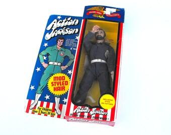 1971 Action Jackson Mego Corp. Toy Action Figure NIB NRFB - Military G.I. Joe Beard American Superhero Retro Collectible Nostalgia Americana
