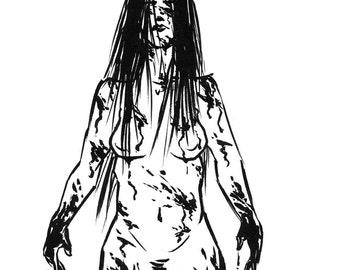 Inktober 2016 No 22 - 5.5 x 7.5 Ink Drawing