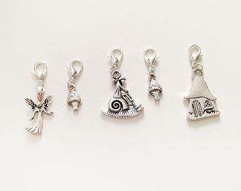 Fairy Folk Crochet Stitch Markers – Set of 5