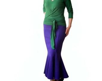 Womens maxi skirt, Maxi Skirt, Womens skirts, Maxi long skirt, Maxi length skirt, Plus size maxi skirt, Plus size womens skirt, Jersey skirt