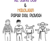 A Catholic Halloween Paper Doll Playset [Downloadable PDF]