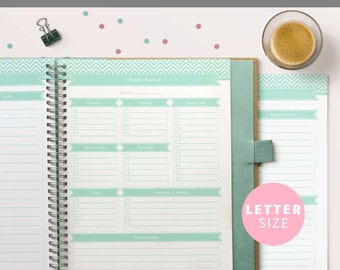 Printable To Do List Planner Set, Instant Download, Editable PDF