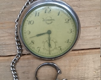 Rare pocket watch Zlatoust 1948