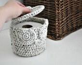 Owl Toilet Tissue Basket Bathroom Decoration Spare Roll Holder Oatmeal Home Decor Custom Colors