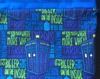 Bigger on the Inside Drawstring Bag