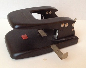 Punchodex 2 Hole Punch P200 Zephyr American Vintage Office Supply Made in USA