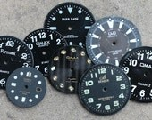 Wrist Watch Faces -- set of 8 -- D18