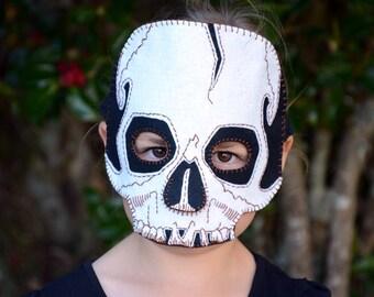 Skull Mask PDF Pattern