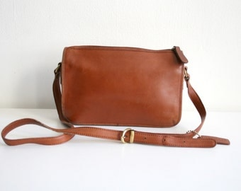 Cognac Coach Bag