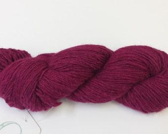 O-Wool Local, Bee-Balm, alpaca yarn.