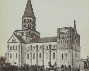 French Unused Postcard -  Saint-Joseph Church, Clermont-Ferrand, France