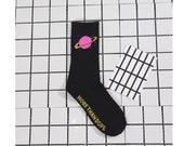 Planet Saturn Socks